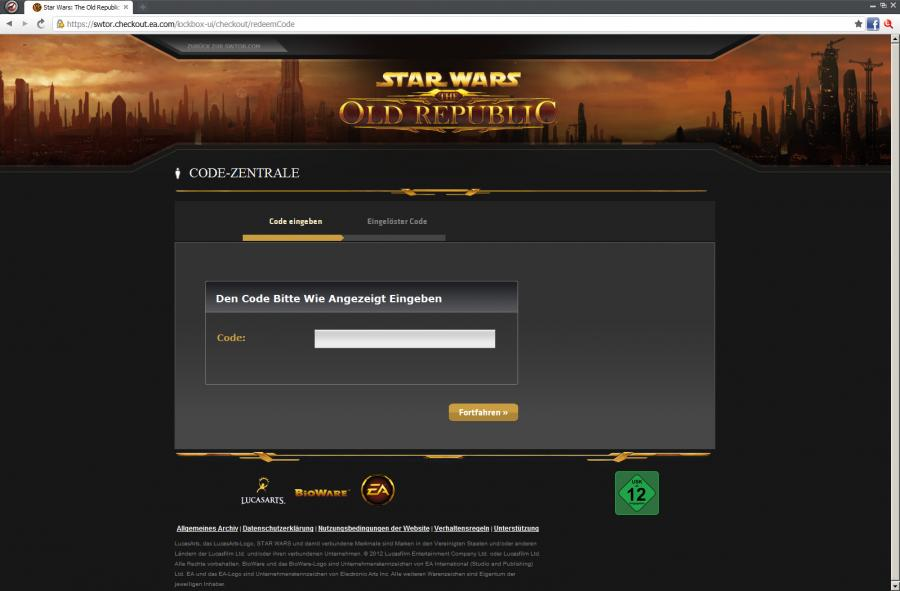 SWTOR - Gamecard Prepaid 60 days Screenshot 4