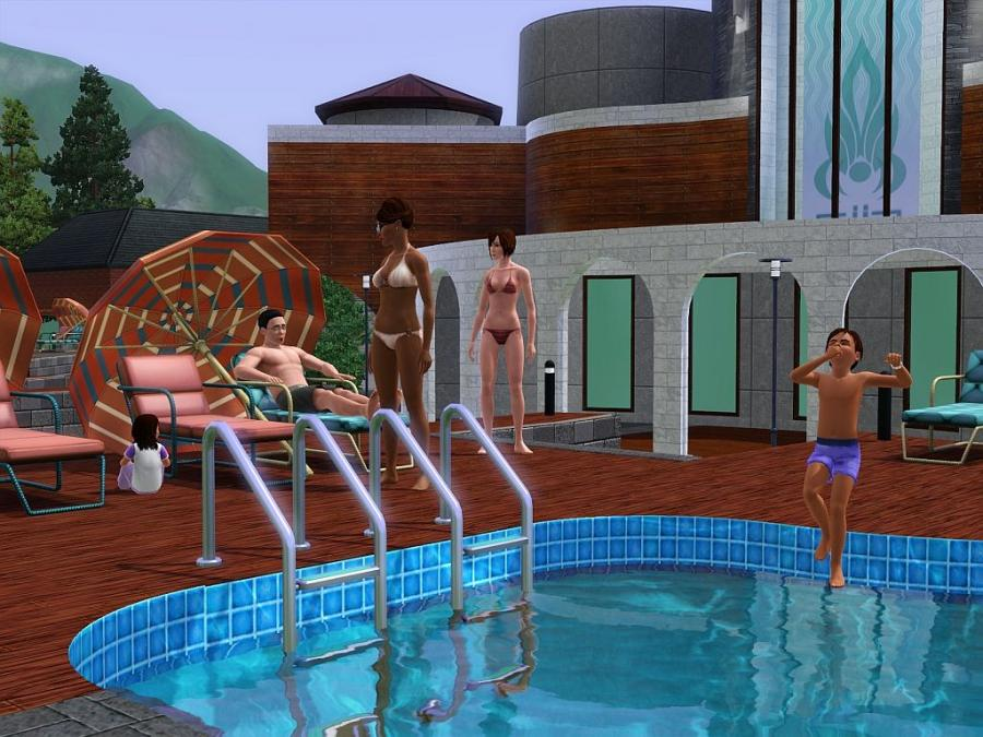 Hidden Springs - Store - The Sims™ 3