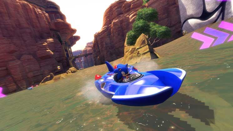 Sonic & SEGA All-Stars Racing Transformed Screenshot 3
