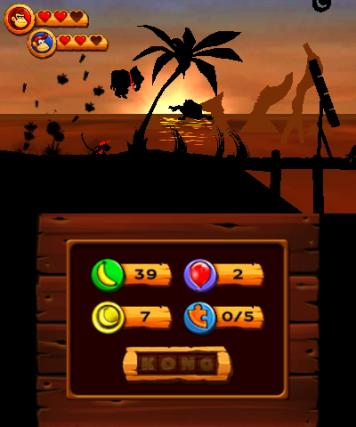 Donkey Kong Country Returns - 3DS Screenshot 2