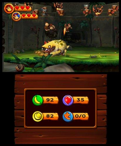 Donkey Kong Country Returns - 3DS Screenshot 8