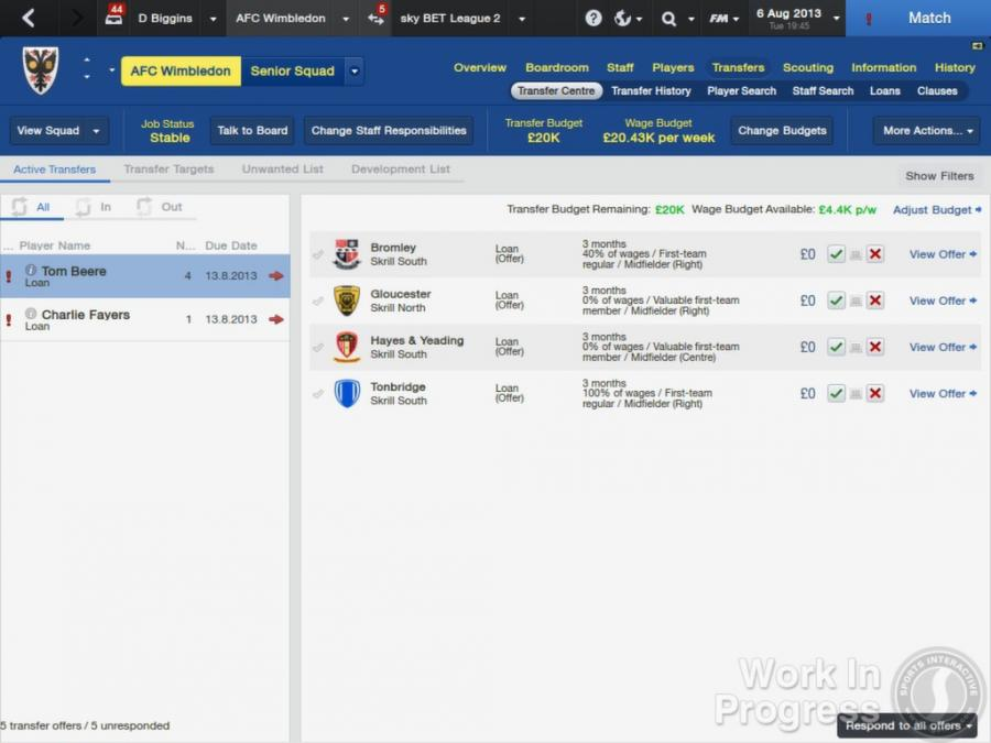 Football Manager 2014 Screenshot 9