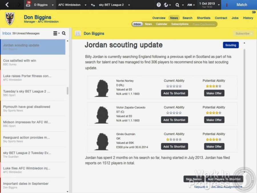 Football Manager 2014 Screenshot 6