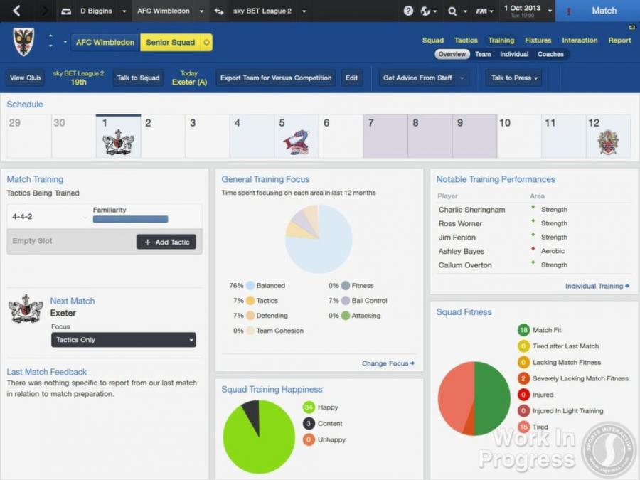 Football Manager 2014 Screenshot 2