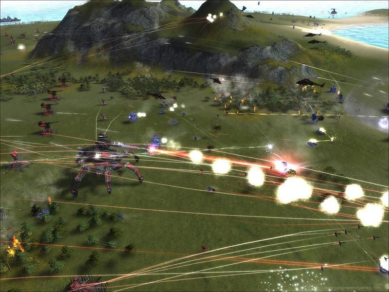 Supreme Commander - Forged Alliance (Addon) Screenshot 8