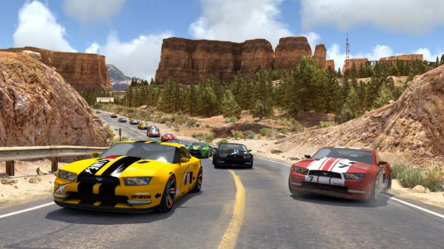 Trackmania 2 Canyon Screenshot 2