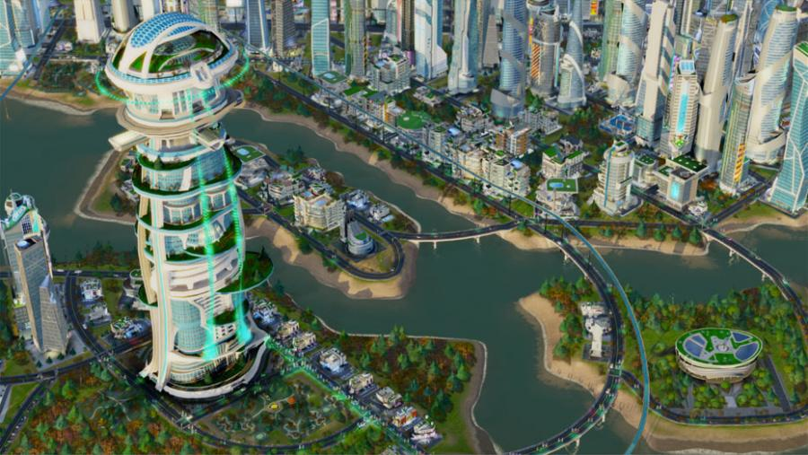 SimCity - Cities of Tomorrow (Addon) Screenshot 1
