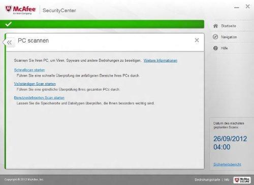 McAfee Internet Security (3 PC) Screenshot 8