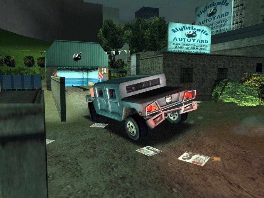 GTA 3 (Grand Theft Auto III) Screenshot 3