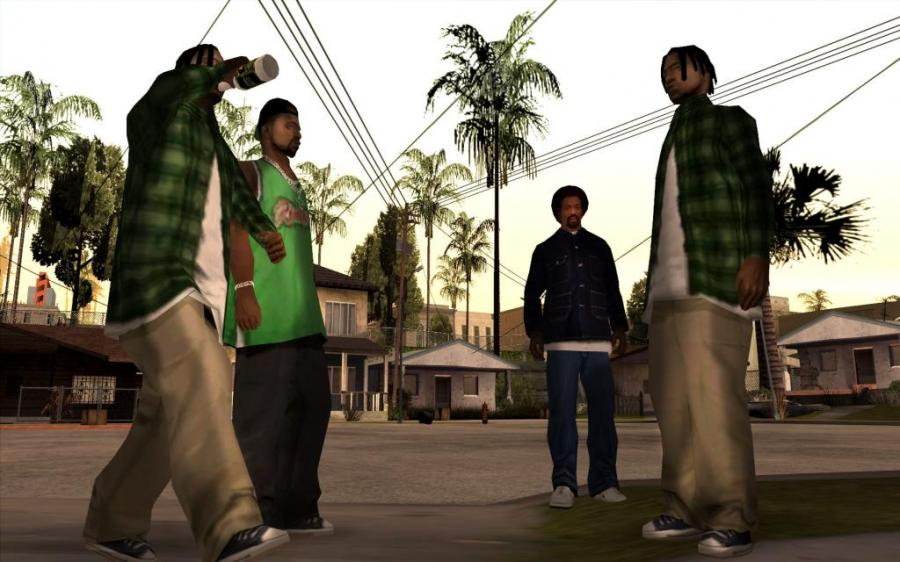 GTA San Andreas Screenshot 2