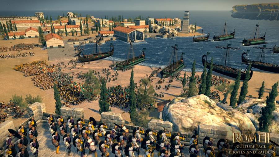 Total War Rome 2 - Pirates and Raiders DLC Screenshot 6