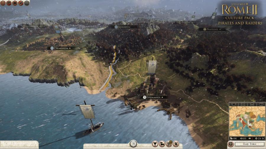 Total War Rome 2 - Pirates and Raiders DLC Screenshot 3