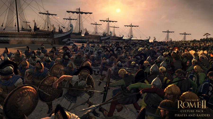 Total War Rome 2 - Pirates and Raiders DLC Screenshot 2