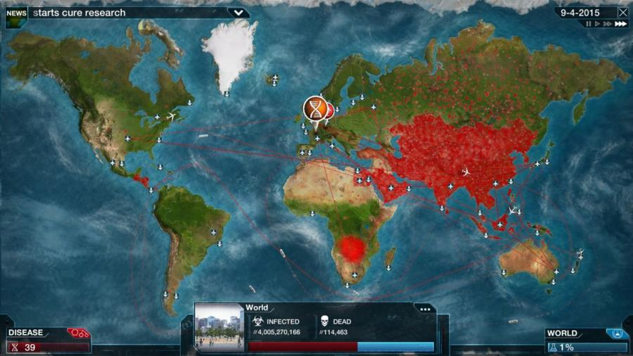 Plague Inc Evolved - Steam Gift Key Screenshot 4