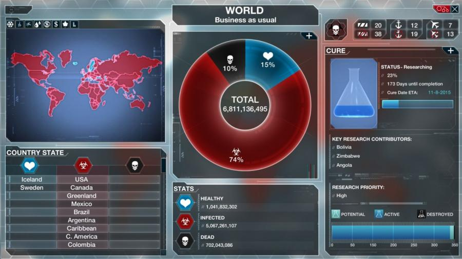 Plague Inc Evolved - Steam Gift Key Screenshot 7