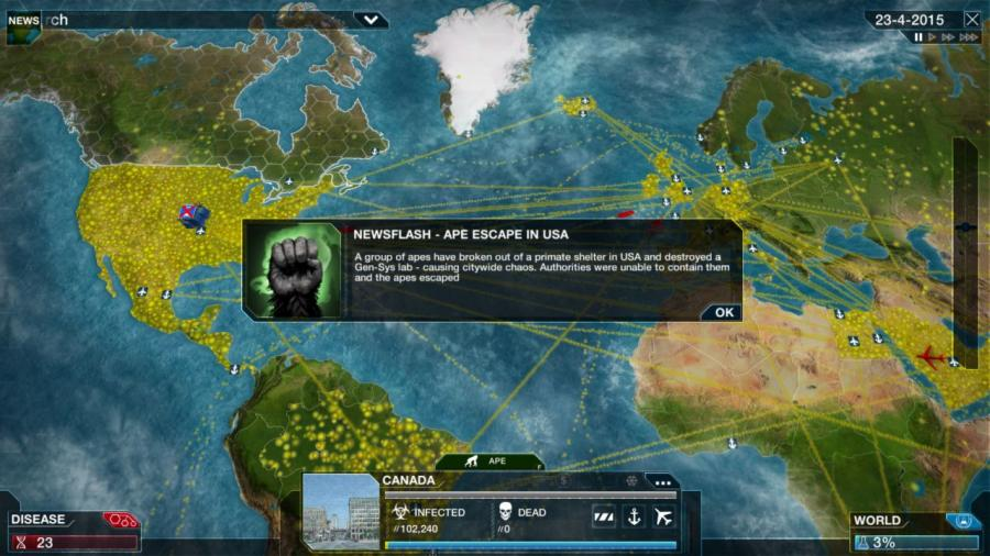 Plague Inc Evolved - Steam Gift Key Screenshot 5