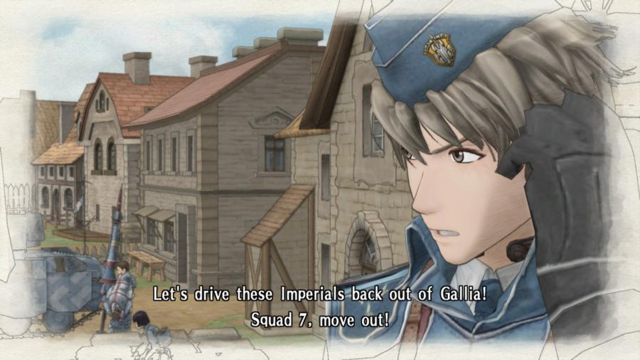 Valkyria Chronicles Screenshot 1