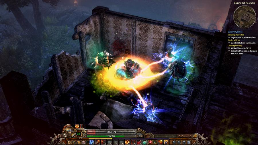 Grim Dawn - Steam Gift Key Screenshot 1