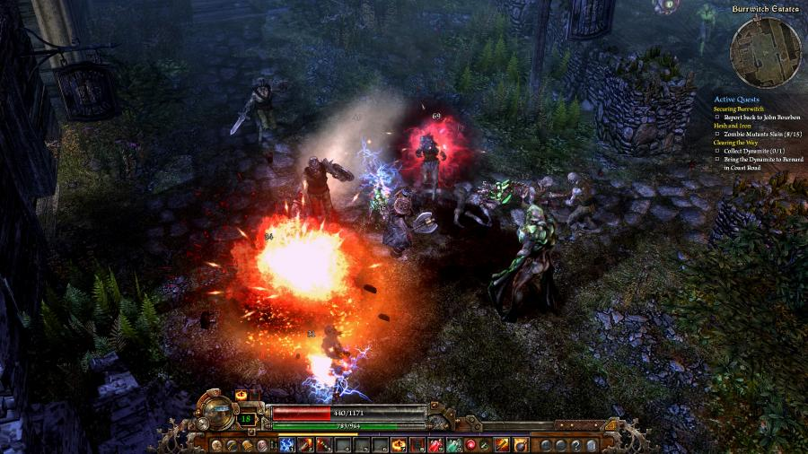 Grim Dawn - Steam Gift Key Screenshot 2