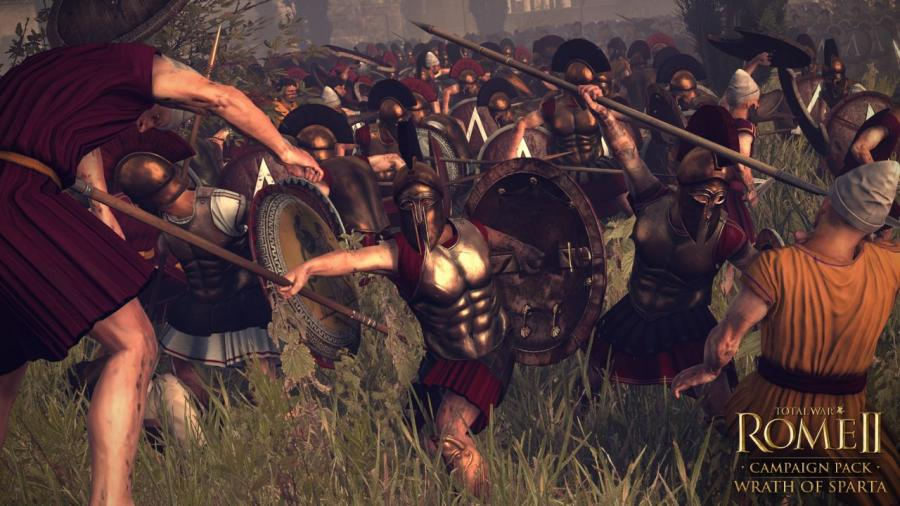Total War Rome 2 - Wrath of Sparta DLC Screenshot 7
