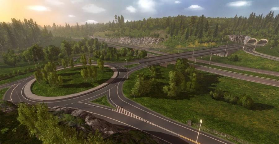 Euro Truck Simulator 2 - Scandinavia (Addon) Screenshot 3