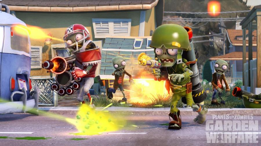 Plants vs zombies garden warfare xbox 360 download code screenshot 1