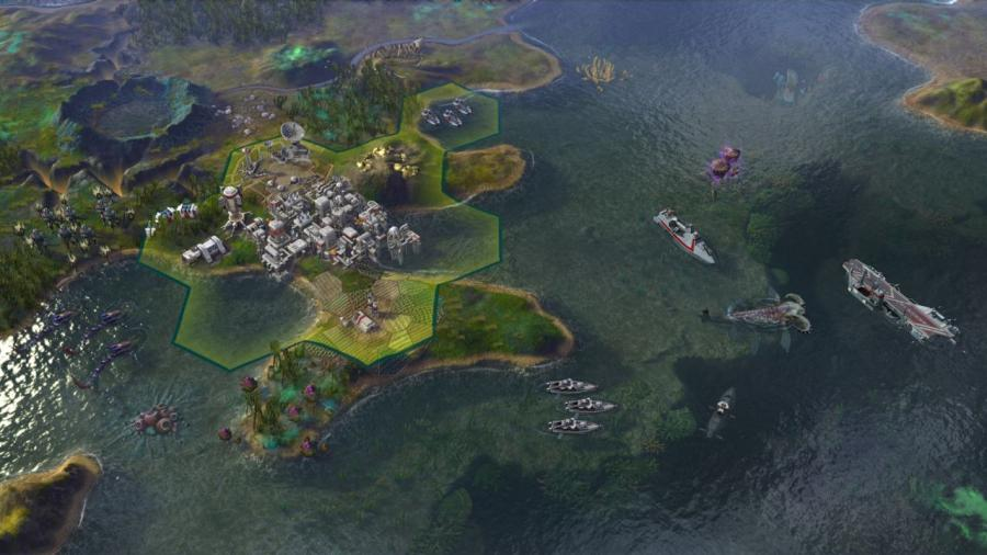 Civilization Beyond Earth - Rising Tide (Addon) Screenshot 2