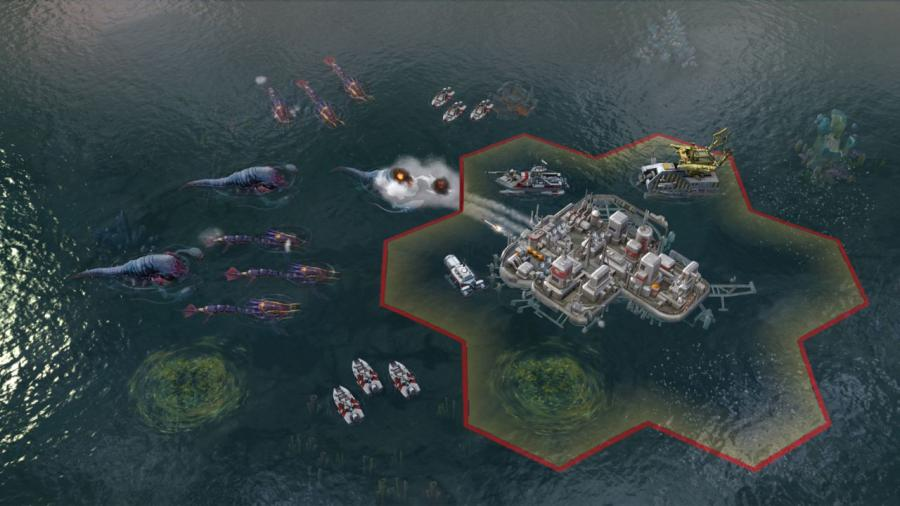 Civilization Beyond Earth - Rising Tide (Addon) Screenshot 1