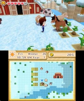 Harvest Moon The Lost Valley [EU] - 3DS Screenshot 4