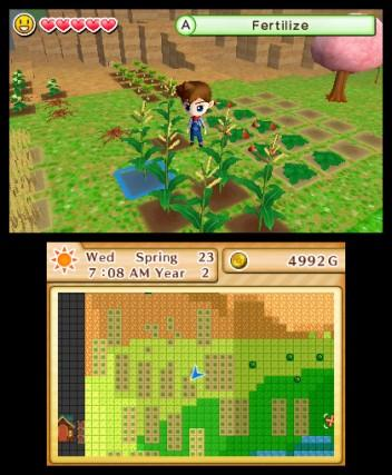 Harvest Moon The Lost Valley [EU] - 3DS Screenshot 1