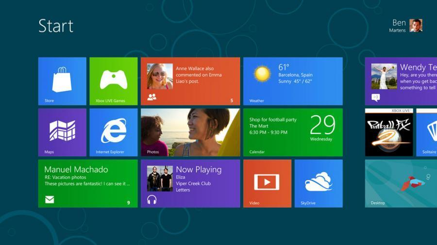 Windows 8.1 Professional (32/64 Bit) Screenshot 1
