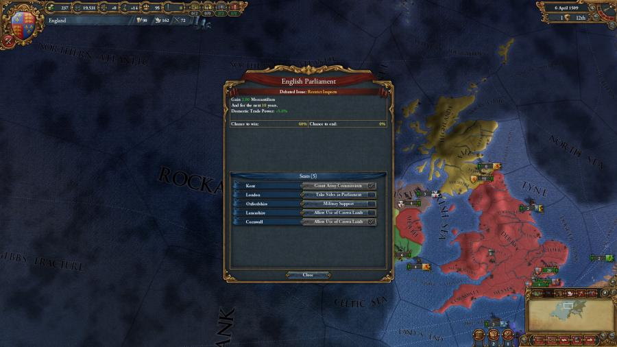Europa Universalis IV - Common Sense (Addon) Screenshot 6