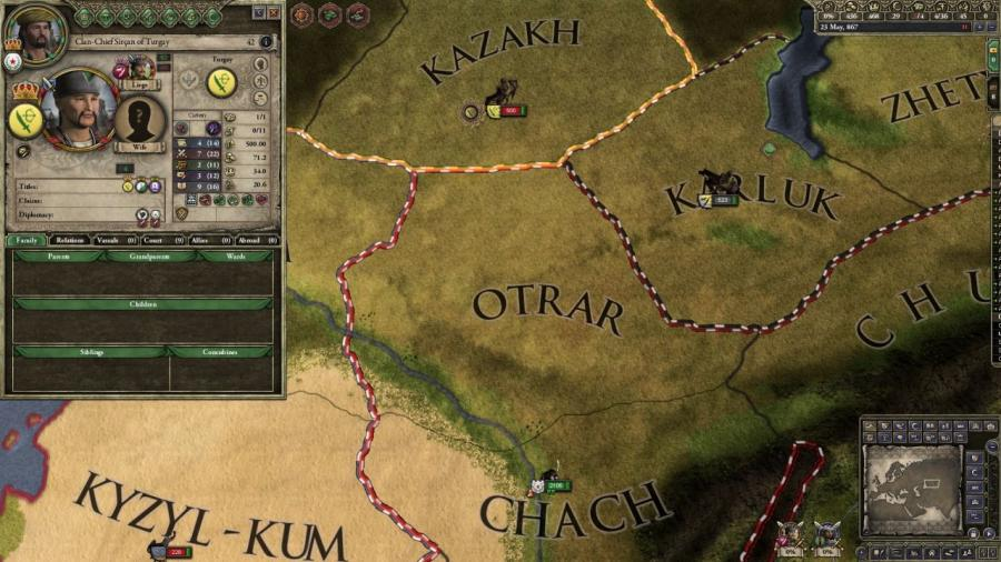 Crusader Kings II - Horse Lords (Addon) Screenshot 5