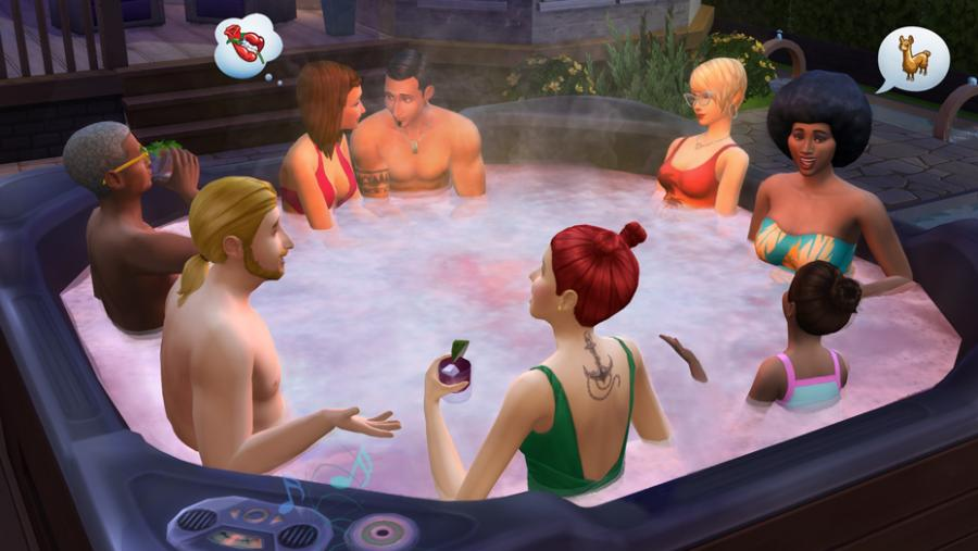The Sims 4 - Spa Day + Luxury Party Stuff + Perfect Patio Stuff Bundle Screenshot 6