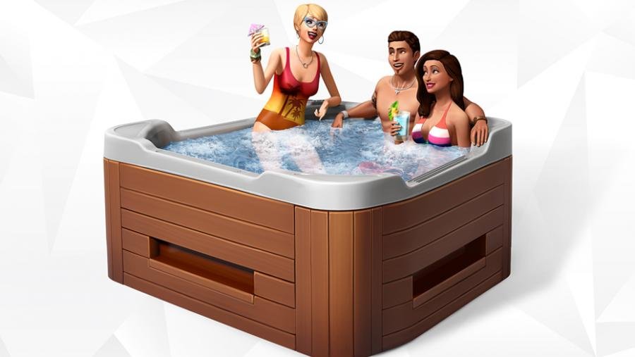 The Sims 4 - Spa Day + Luxury Party Stuff + Perfect Patio Stuff Bundle Screenshot 8