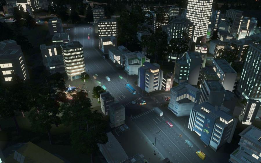 Cities Skylines - After Dark (Expansion) Screenshot 3