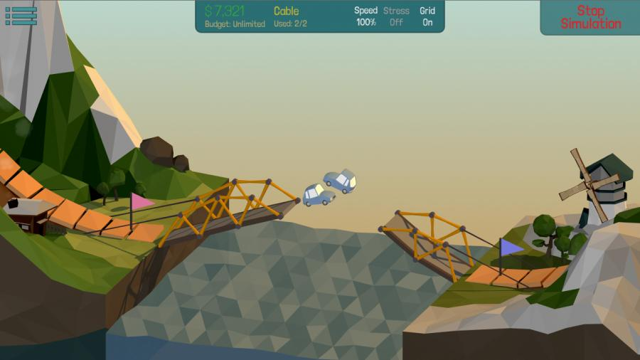 Poly Bridge - Steam Gift Key Screenshot 1