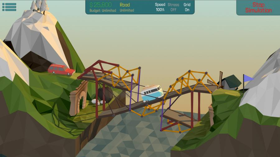 Poly Bridge - Steam Gift Key Screenshot 2