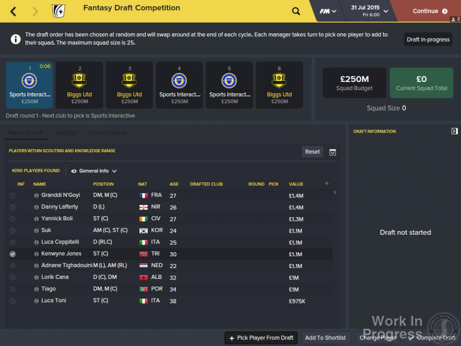 Football Manager 2016 Screenshot 4