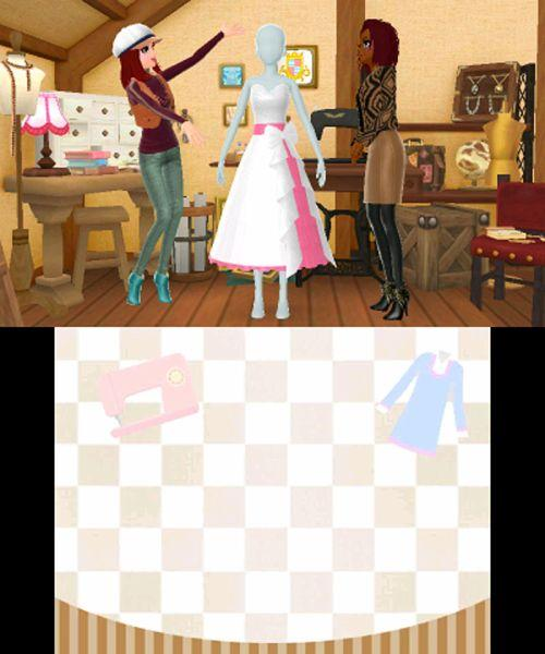 New Style Boutique 2 - 3DS Screenshot 4