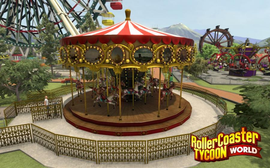 RollerCoaster Tycoon World - Deluxe Edition Screenshot 1
