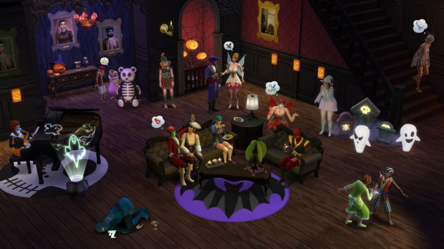The Sims 4 - Outdoor Retreat + Cool Kitchen Stuff + Spooky Stuff Bundle Screenshot 7