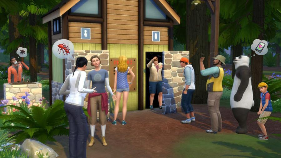 The Sims 4 - Outdoor Retreat + Cool Kitchen Stuff + Spooky Stuff Bundle Screenshot 6