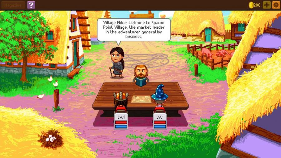 Knights of Pen and Paper 2 Screenshot 2