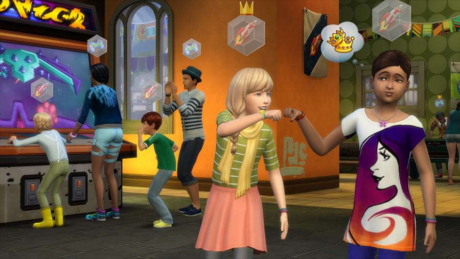 The Sims 4 - Get Together Addon Screenshot 2