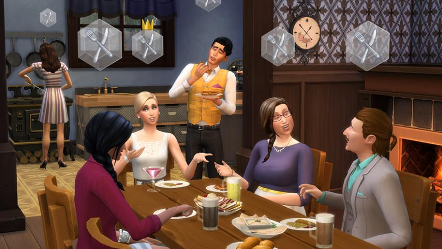 The Sims 4 - Get Together Addon Screenshot 4