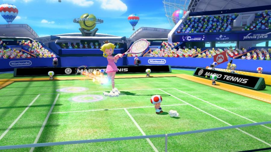 Mario Tennis Ultra Smash - Wii U Download Code Screenshot 4