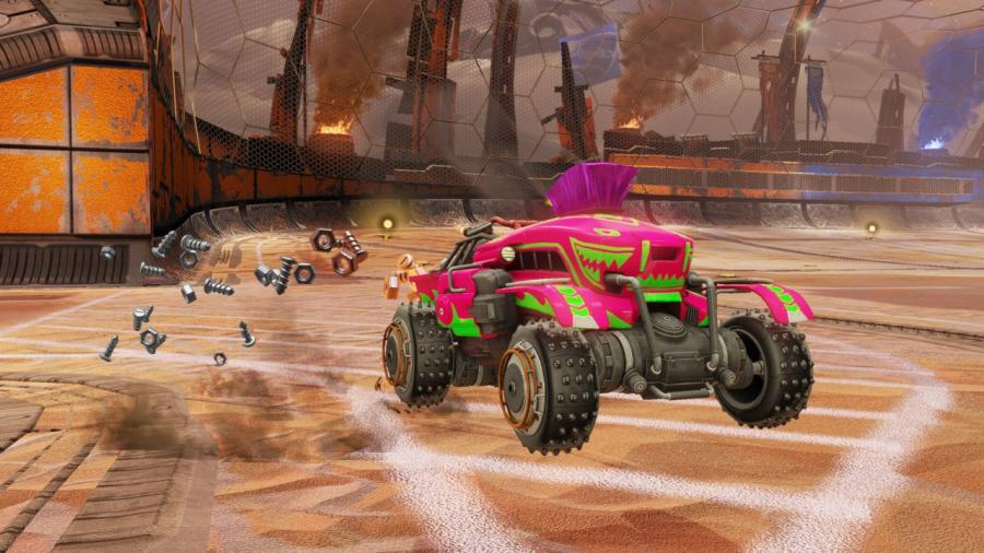 Rocket League - Chaos Run DLC Pack Screenshot 1