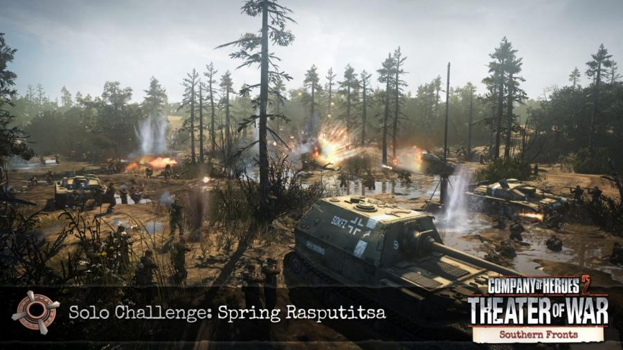 Company of Heroes 2 - Southern Fronts DLC Screenshot 7