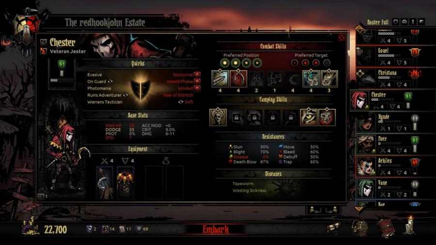 Darkest Dungeon Screenshot 9